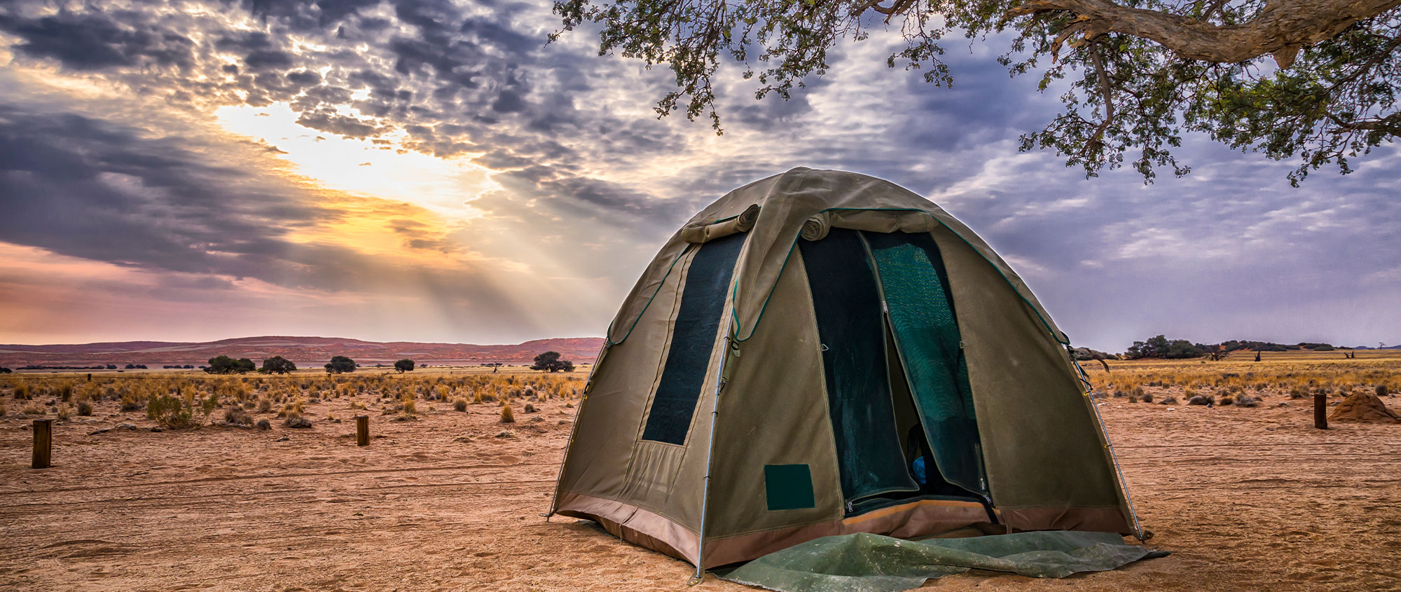 Dome tent, Namibia